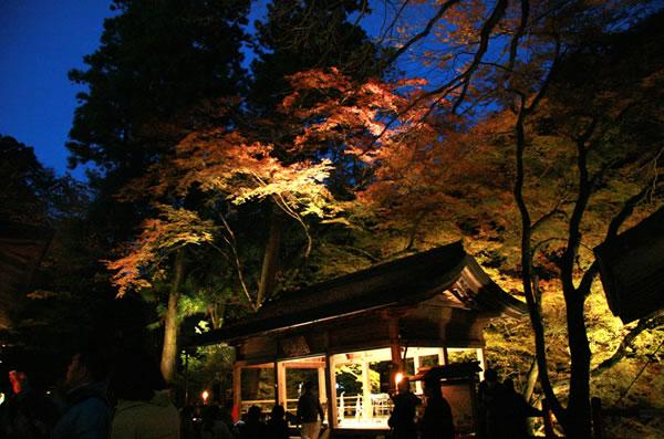 京都の紅葉 貴船神社