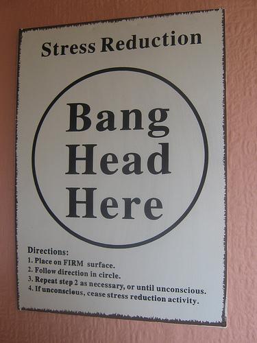 ストレス解消法?